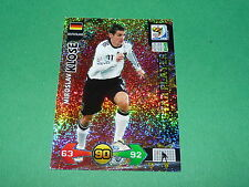 KLOSE DEUTSCHLAND  PANINI FOOTBALL FIFA WORLD CUP 2010 CARD ADRENALYN XL