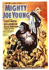 (P016) Mighty Joe Young - Photocard of movie poster