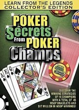 Poker Secrets from Poker Champs DVD  w/ Phil Ivey, Negreanu, Johnny Chan, + More