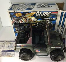 1993 GI Joe Rhino GPV 1:6 Scale Heavy Duty Ground Patrol Vehicle- Hall Of Fame