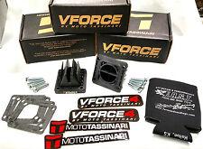 Yamaha Banshee NEW V Force 4 Reeds YFZ350 RZ350 VFORCE4 100%FEEDBACK FREE KOOZIE