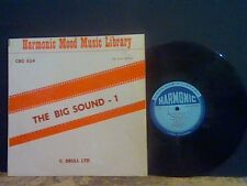 HARMONIC MOOD MUSIC LIBRARY The Big Sound 1   LP  Brull Ltd  Jazz  EX!