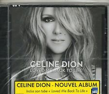 CD 13T CELINE DION LOVED ME BACK  TO LIFE DE 2013 NEUF SCELLE WITH FRENCH STICK