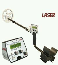 "Laser Hawkeye - Metal Detector with 11"" x 8"" widescan coil"