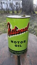 Nice Canadian Oil Companies National Imperial Quart Oil can Enarco White Rose
