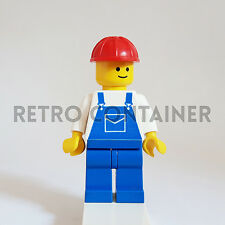 LEGO Minifigures - 1x ovr001 - Construction Worker - Omino Minifig 6542 6314