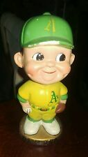 Original 1960's Oakland A's Gold Base Nodder Bobblehead Athletics