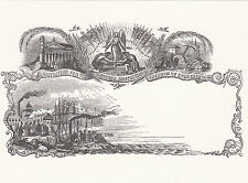 16901 Postkarte Mulready Umschlag Briefmarken Sammler Zeitschrift ausgegeben
