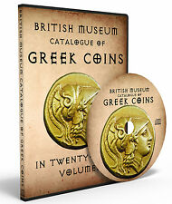 BRITISH MUSEUM CATALOG of GREEK COINS (BMC Greek) 28 Complete Volumes on DVD-ROM