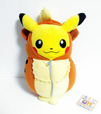 BANPRESTO Pokemon Plush Doll Pikachu Nebukuro Sleeping Bag Growlithe (Gardie)