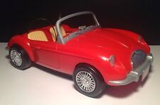 'RARE' Barbie 1998 Vintage 'RED'  MG Convertible Sports Car by: Mattel