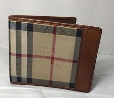 Burberry Men's Wallet Horseferry Check / Tan