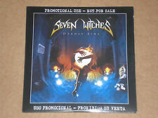 SEVEN WITCHES - DEADLY SINS - CD PROMO