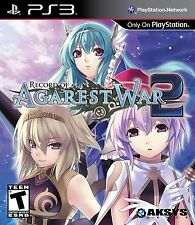 Record Of Agarest War 2 (Playstation 3 PS3 Move Battle Adventure Rage) Brand NEW
