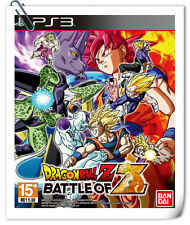 PS3 DRAGON BALL Z: BATTLE OF Z SONY PlayStation Namco Bandai Fighting Games