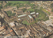 Cheshire Postcard - Aerial View of Chester Cathedral    RR598