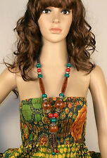 Ethnic Boho Style Necklace Handmade In Nepal