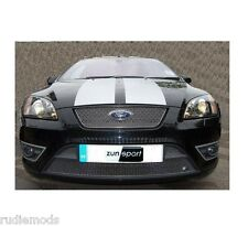 Zunsport Ford Focus ST 05-07 Stainless Steel Front Grille Set