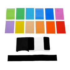 Neewer 12 pcs Universal Speedlite Color Filter Kit for Canon Nikon Pentax Camera