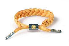 Rastaclat Orange Yellow Bow Shock Botany Series Braided Shoelace Bracelet