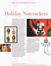 #828 42c Holiday Nutcrackers #4360-#4363 USPS Commemorative Stamp Panel