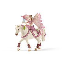 Schleich Bayala Feya In Festive Clothes Riding NEW