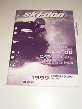 SKIDOO 1999 PARTS AND ACCESSORIES CATALOG MANUAL FORMULA DELUXE 380 / 500