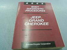 2003 JEEP GRAND CHEROKEE BODY DIAGNOSTIC PROCEDURES FACTORY MANUAL
