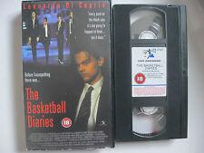 THE BASKETBALL DIARIES VHS VIDEO. EAN: 5012957309186. Cert.18. Di Caprio.
