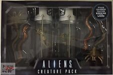 CREATURE PACK Aliens STASIS CHAMBER & FACEHUGGER LED Lights Neca 2016 Xenomorph