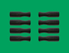 "Set of 8 Black Dynamo Style Foosball Handles for 5/8"" Diameter Foosball Rods"