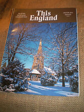 THIS ENGLAND, ENGLISH MAGAZINE,WINTER 2010,84 PAGES