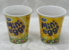"Rare Cadbury Coffee Tea Mug Mini Eggs 4"" UK 2012 Germany Pastel Retro Handle HTF"
