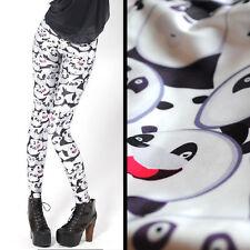Panda Mashup silky leggings - 10 - 12 UK, pandas, bear, Japan, kawaii, cute