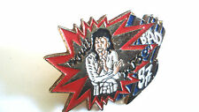PINS RARE MICHAEL JACKSON BAD 1987 MUSIQUE ROCK