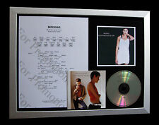 EVERYTHING BUT THE GIRL Missing QUALITY MUSIC CD FRAMED DISPLAY+FAST GLOBAL SHIP