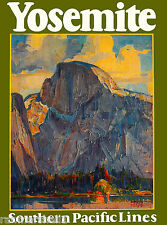 Yosemite National Park California United States Travel Advertisement Art Poster