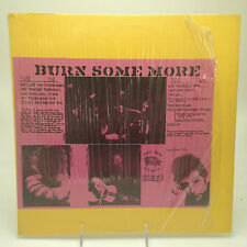 BOB DYLAN- BURN SOME MORE LP RED VINYL TRADE MARK OF QUALITY TMOQ ROCK FOLK RARE