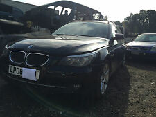 BMW 5 SERIERS E61 520 D diesel for breaking.PAINT CODE 668/9 IN BLACK