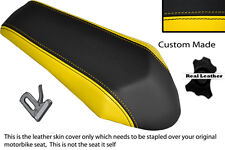 YELLOW&BLACK CUSTOM FITS DERBI GPR 50 125 UNDERSEAT EXHAUST 07-13 REAR COVER