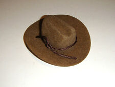 Ken Doll Sized Brown Cowboy Hat For Barbie/Ken Diorama dm03