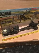 VINTAGE 70s DINKY TOYS N. 615 JEEP americana con 105 mm obice