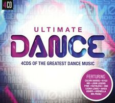 ULTIMATE...DANCE - CALVIN HARRIS, FAITHLESS, GOSSIP, MAXWELL, KE$HA 4 CD NEU
