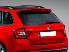 Roof spoiler Monte Carlo Skoda Fabia III estate, painted-different colours