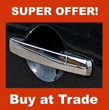 NISSAN NAVARA D40 CHROME DOOR HANDLE COVERS STAINLESS STEEL 4 DOORS NEW 2005 ON
