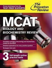 MCAT Biology and Biochemistry Review: New for MCAT 2015 (Graduate School Test Pr