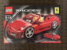 NEW Sealed Lego 8671 Racers Ferrari F430 Spider 1:17