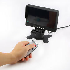 FPV 7 inch TFT LED Monitor HD 800x480 Screen Display w/ Base for RC Model Camera