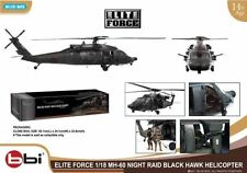 BBI Ultiimate 1/18 MH-60 Blackhawk Helicopter Model 160th Night Stalkers Soldier