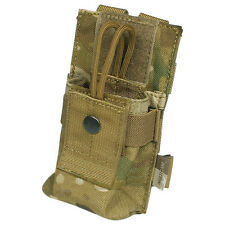 FLYYE TACTICAL SHORT RADIO POUCH MOLLE SYSTEM AIRSOFT CORDURA ORIGINAL MULTICAM
